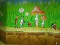 ШоуРум - неплохой пример для росписи стены в детской